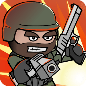 Doodle army 2 aka mini militia game icon